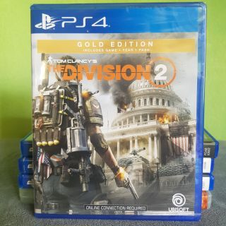Đĩa game ps4 The Division 2 gold new