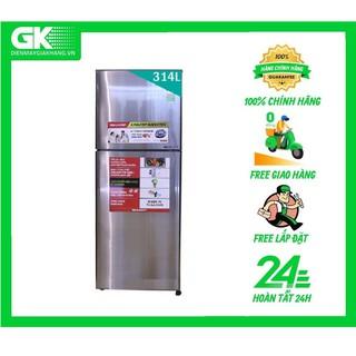 X316E SL - Tủ lạnh Sharp Inverter 314 lít SJ-X316E-SL