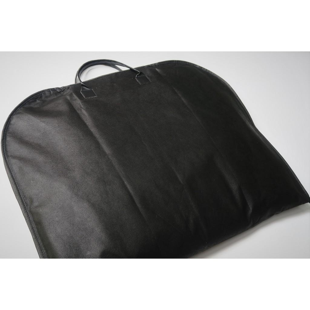 Túi bọc quai Da Cho Áo Vest, Bộ Suit, Áo Đầm Màu Đen (60cm x 100cm)