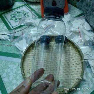 tuan0503 Chai nhựa nắp đen 330ml 10k/3c – đựng chè dưỡng nhan, nước sâm tuan0503