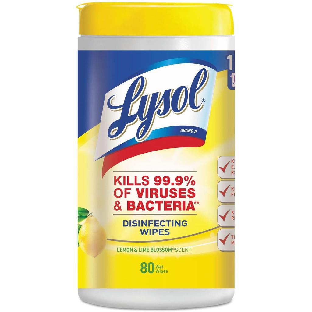 Khăn giấy diệt khuẩn Lysol