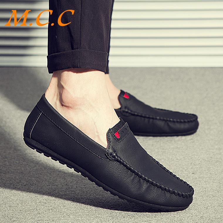 Quick hand red man net red with the lazy one foot casual shoes men's peas shoes spirit guy social men's shoes