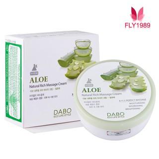 Kem Mát Xa Lô Hội Hàn Quốc - DABO Natural Rich Massage Cream Aloe thumbnail