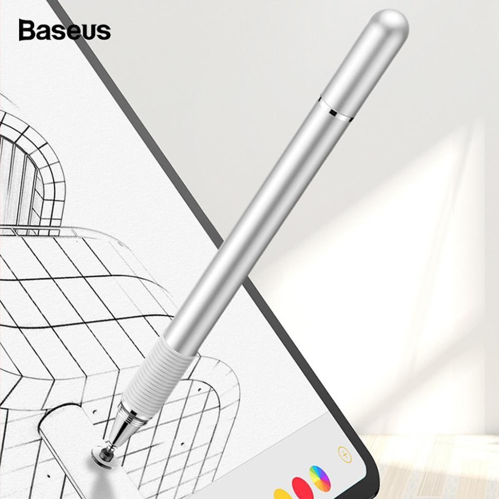 Bút cảm ứng 2 đầu 2 in 1 Baseus cho điện thoại mày tính bảng iPhone iPad  Samsung window PC - Hàng chính hãng tại TP. Hồ Chí Minh