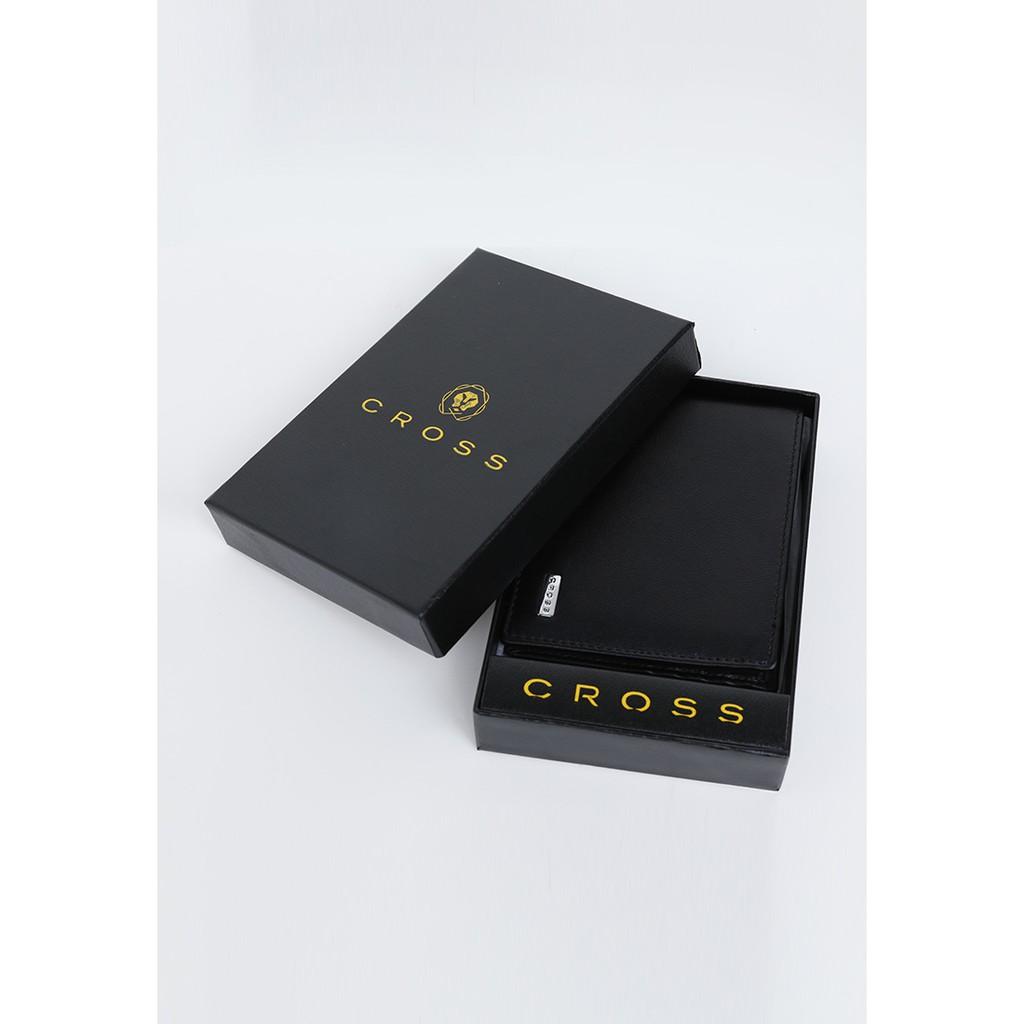 Ví nam da thật cao cấp Cross (Mỹ) AC248121B - Slim Wallet