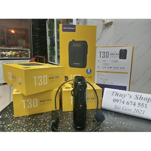 Máy trợ giảng Aporo T30 Bluetooth Mic không dây Loa Bluetooth chính hãng