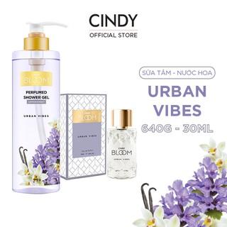 Combo Sữa Tắm Nước Hoa 640g & Nước Hoa 30ml Cindy Bloom Urban Vibes thumbnail