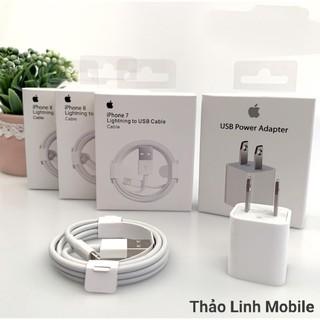 Sạc IPHONE 6/6s/7/7s 💕CAO CẤP 💕 bộ sạc IPhone chính hãng/củ sạc full box/ cáp iphone zin bóc máy 6s/7s