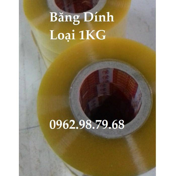 Băng Keo 5 Cuộn Loại 1KG Tổng 5KG Băng Dính Bọc Hàng