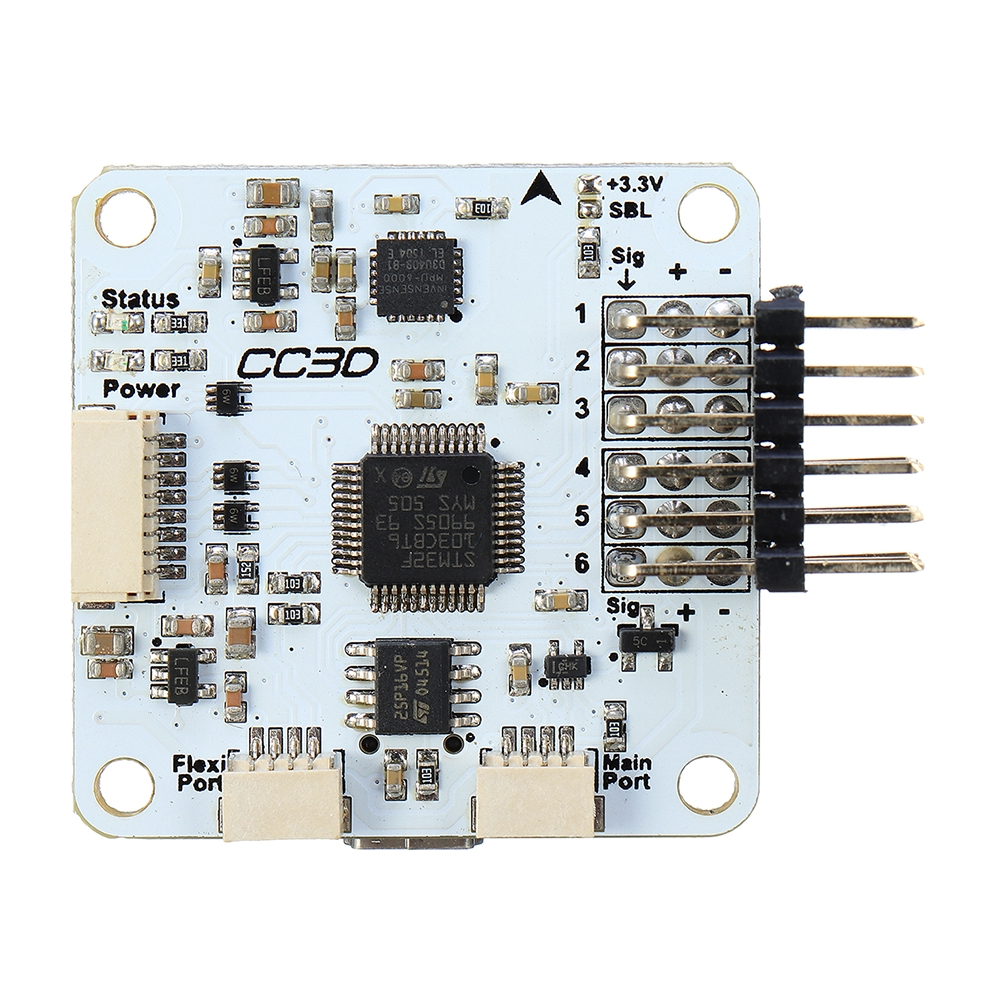 🔥NWE CC3D Flight Controller Openpilot Copter Control Board for Eachine 250