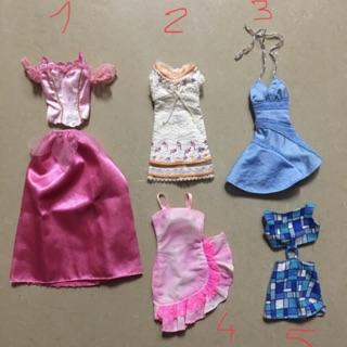 Thanh lý váy áo công chúa Disney/ đầm búp bê Barbie chính hãng
