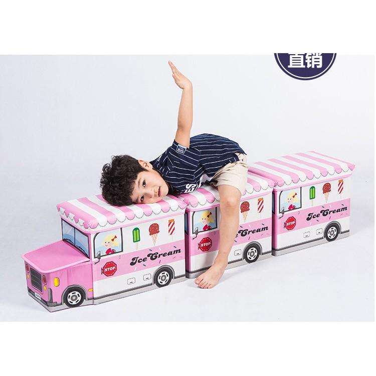 Thùng đựng đồ chơi cho bé kiểu toa tàu