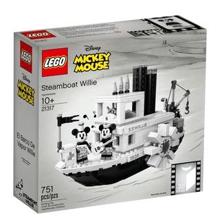 LEGO21317IDEASSáng Tạo Disney Mickey Welly Số Tàu Hơi Nước Bé Trai Đồ Chơi Câu Đố imTU