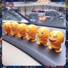 [SALE OFF 22%]Emoji Lắc Đầu – Vui Lên Cho Đời Bớt Nhạt thú nhún emoji con lắc lò xo