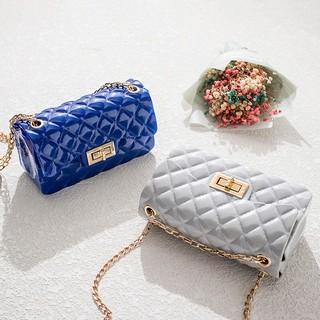 Túi xách đeo chéo nữ đẹp Silicon trám mềm-TXN136-TT&GĐ