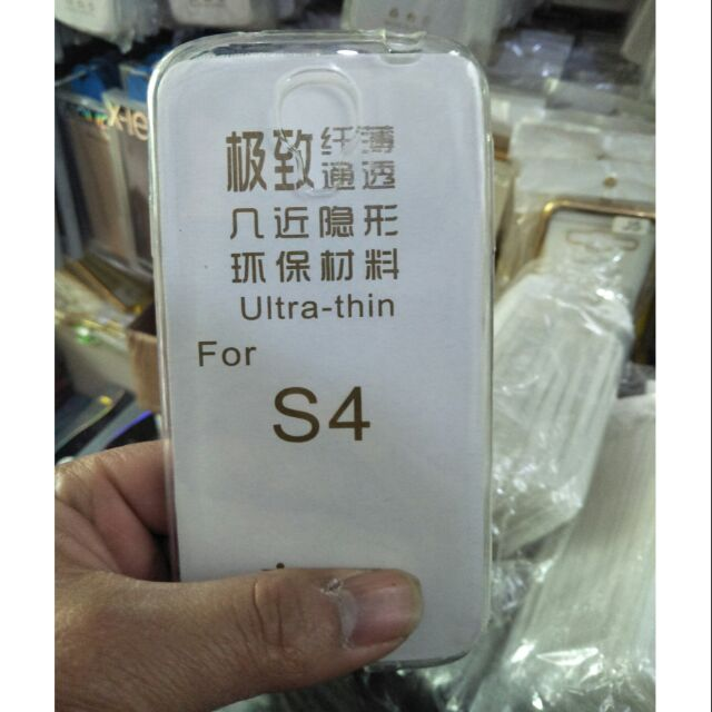 Ốp dẻo trong suốt cho Samsung S4