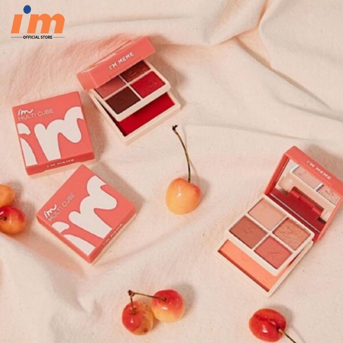 Bảng Phấn Mắt Và Má Hồng 2in1 I'm Meme I'm Multi Cube 8.5g | Shopee Việt Nam
