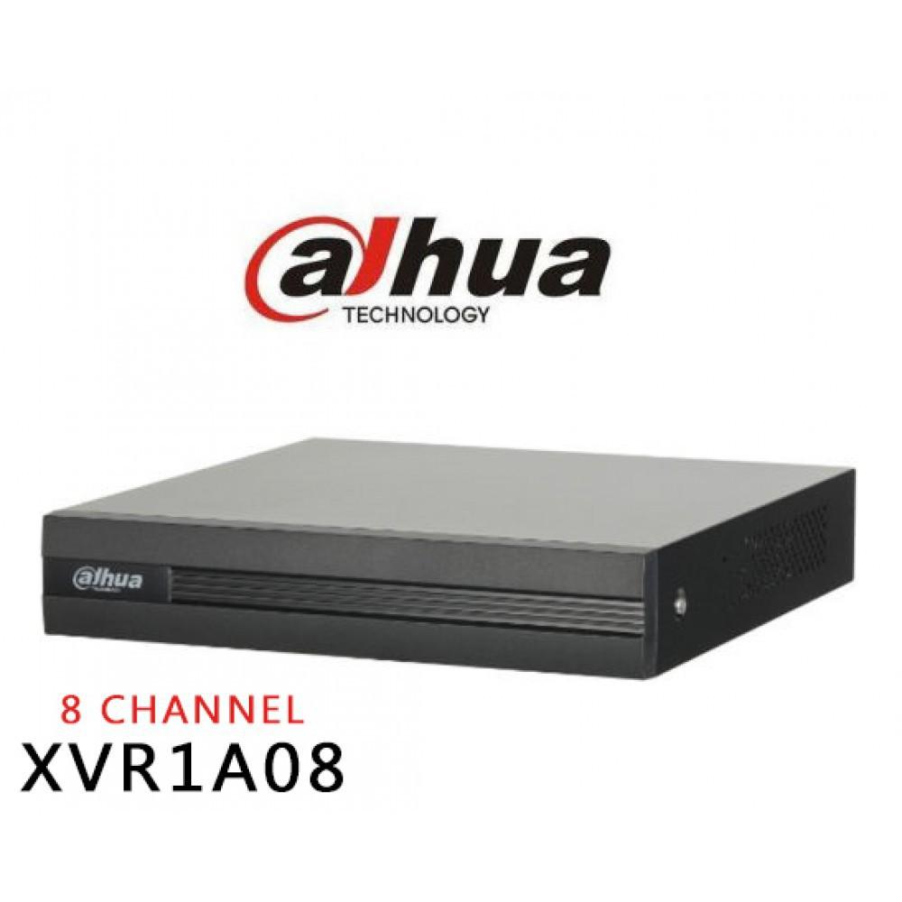 DH-XVR1A08 (Hỗ trợ  DSS DDNS) Đầu ghi hình 4/8 kênh, hỗ trợ camera HDCVI/Analog/IP/TVI/AHD.
