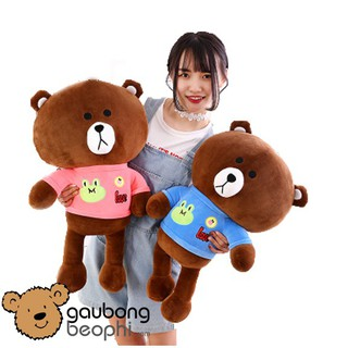 [HOT]Gấu brown mặc áo love hàng nhập vải siêu mềm quà tặng tình yêu không thể thiếu (giao màu bất kì)- GBBP