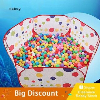 ☛Ready stock☚Children Kid Portable Basketball Hoop Toy Tent Play Tent Ocean Pit Ball Pool