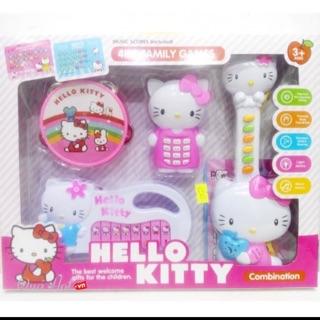 Bộ đồ chơi kitty