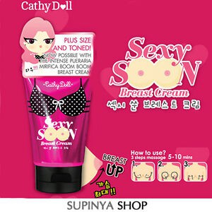 Kem nngực Cathy Doll Sexy Soon Breast Cream 75g