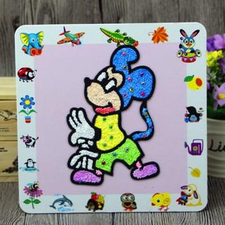 Snowflake Painting Children's Cartoon Ultralight Clay Snowflake Pearl Mud Painting Color Painting Diy Ornaments