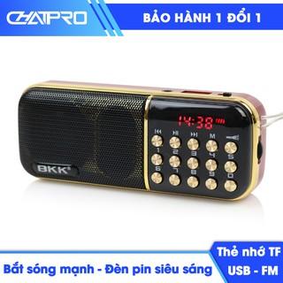 [NHẬP ELCHATPRO GIẢM 30K ĐƠN TỪ 250K] Máy nghe nhạc thẻ nhớ, USB, nghe kinh phật, nghe đài FM BKK K51