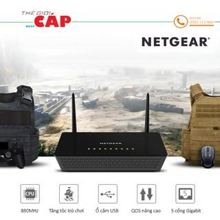 Bộ Phát Sóng Wifi Router NETGEAR R6220 Chuẩn AC 1200 Mbps 2.4G & 5G thumbnail