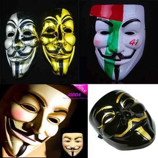 MẶT NẠ HÓA TRANG HACKER anonymous đủ màu cao cấp hàng chính hãng mã sp AR4637 Vmã ZU