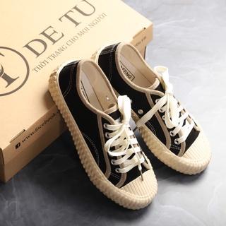 Giày Sneaker Vải Nữ DETU GT5 Đơn Giản Thoải Mái Hoạt Động thumbnail