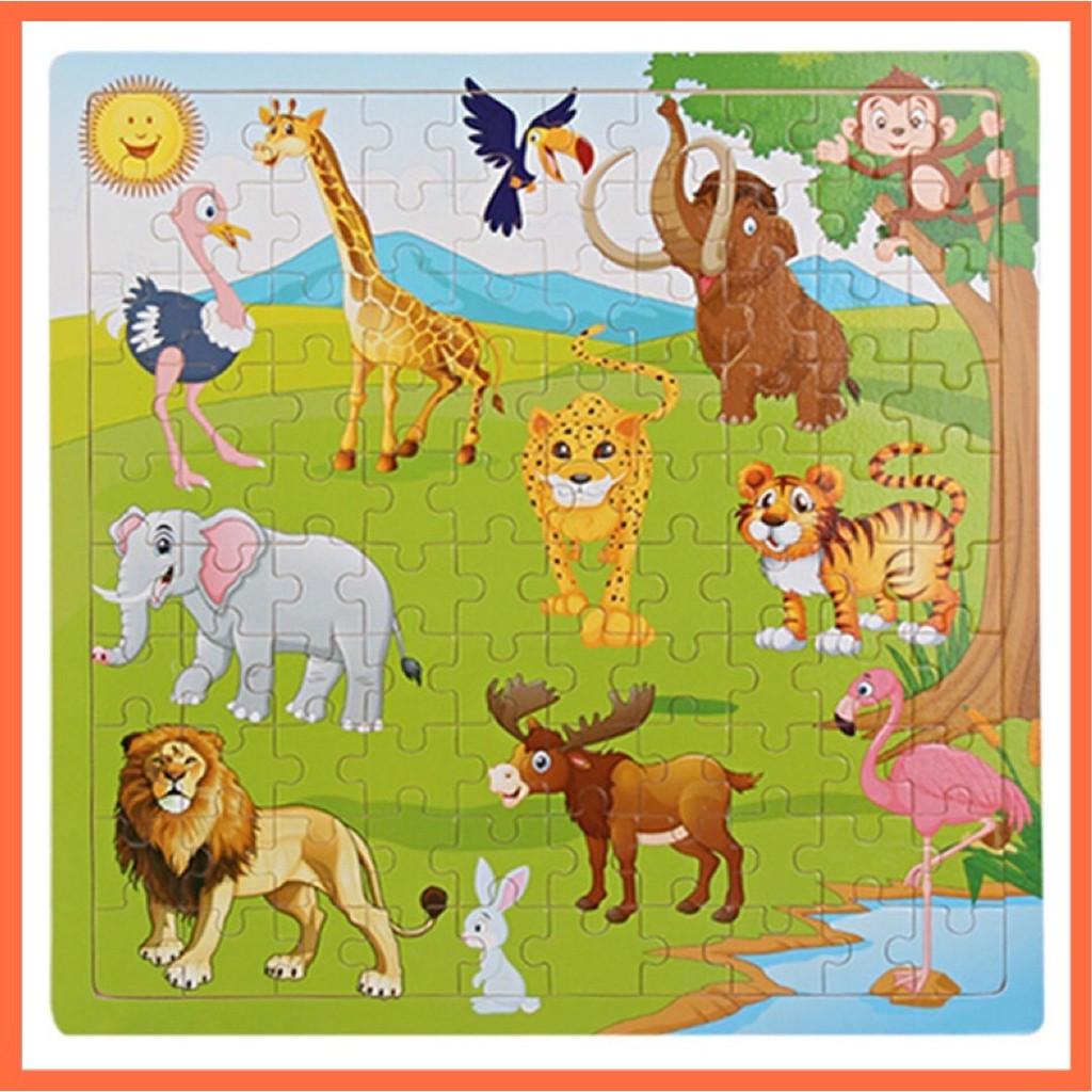 Tranh Gỗ Xếp Hình 100 Mảnh – Đồ Chơi Trẻ Em