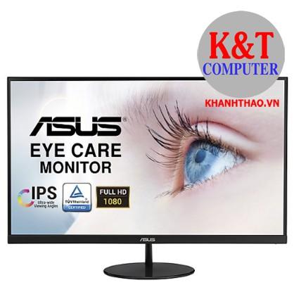 Màn Hình ASUS Bảo Vệ Mắt VL249HE 23,8'' Full HD (1920x1080) 5ms 75Hz IPS Adaptive-Sync/FreeSync - Hàng Chính Hãng