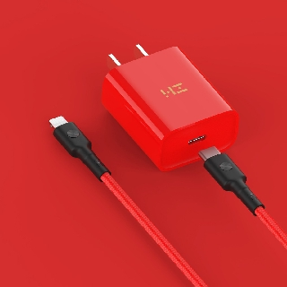 Bộ sạc nhanh PD Zmi 18W cho iphone bản màu đỏ