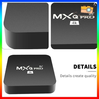 Bộ Hộp Tv Điều Khiển Từ Xa Mxqpro5G 4k