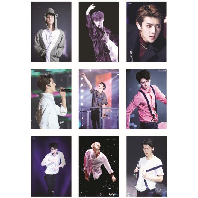 Lomo card ảnh EXO SEHUN on stage full 99 ảnh