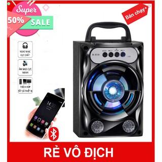 Loa Bluetooth Không Dây Cho Điện Thoại, Máy Tính Bảng GS13 Âm Thanh Siêu Hay Led Nháy, Loa Xách Tay