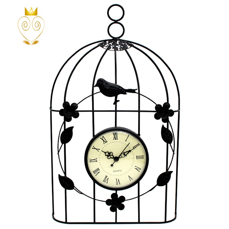 Đồng hồ treo tường hình lồng chim phong cách cổ điển | Shopee Việt Nam
