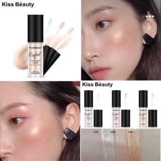Cây Nhũ Mắt + Má Kiss Beauty Perfect Moisture And Shine thumbnail