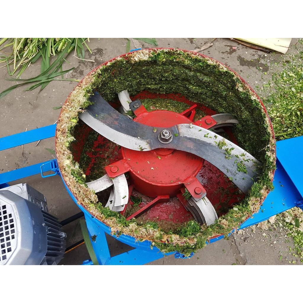 Máy băm chuối đa năng Okasu cho gà vịt, máy băm thân cây sắn cho lợn cá