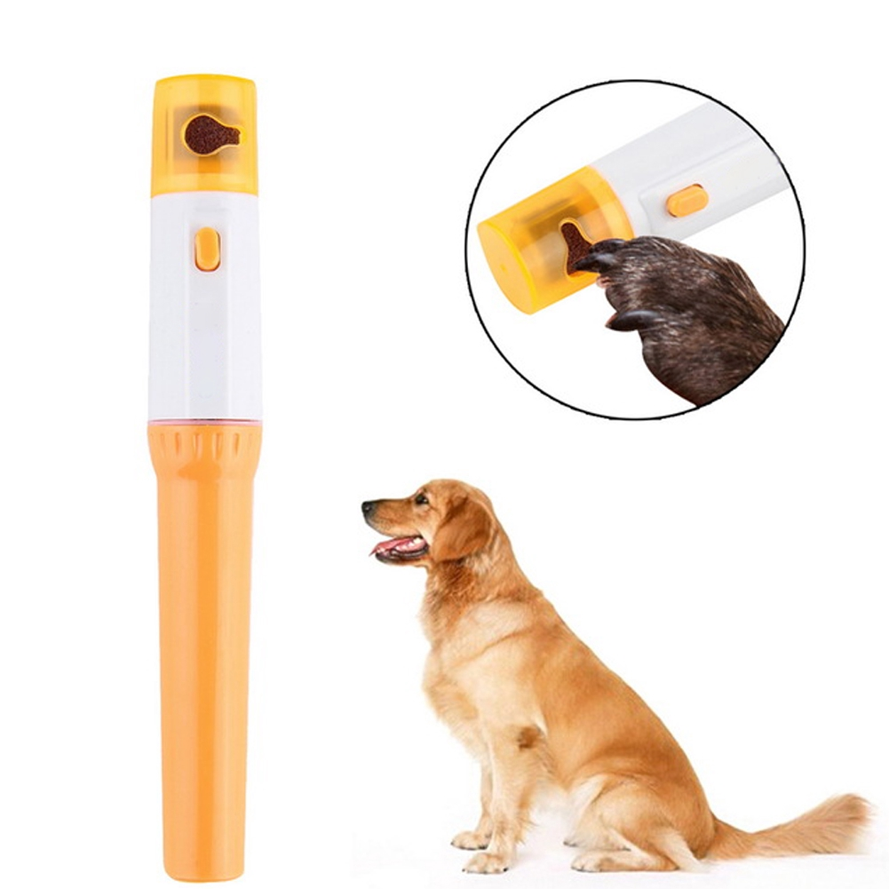 Pet Supplies Grooming Tool Wear Resistant Cleaning Electrical Portable Nail Clipper