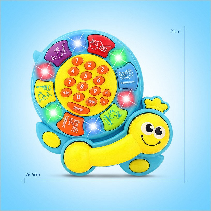 Light music learning puzzle early education toys