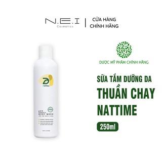 Sữa tắm Thuần chay men vi sinh NATTIME - Sữa tắm lành tính - 120ml thumbnail