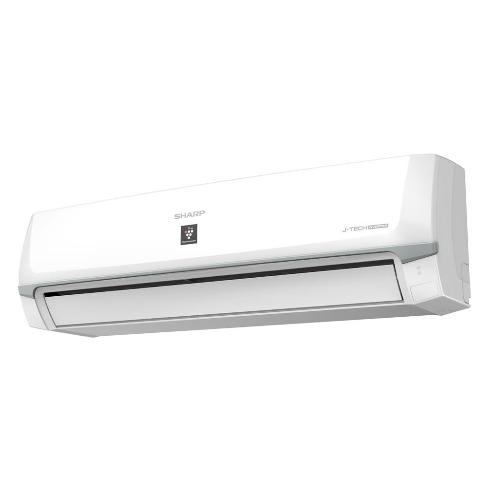 MIỄN PHÍ CÔNG LẮP ĐẶT - XP13WHW - Máy lạnh Sharp Inverter 1.5 HP AH-XP13WHW Mẫu 2019