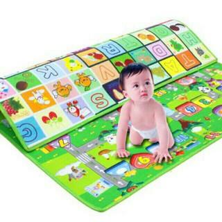 RẺ VÔ CÙNG thảm chơi maboshi 1m8 x 2m an toàn cho bé