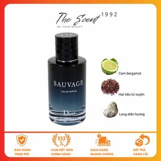 [CHÍNH HÃNG] Nước Hoa Nam Chính Hãng Dior Sauvage EDT, EDP, Parfum 10ml, 100ml thumbnail