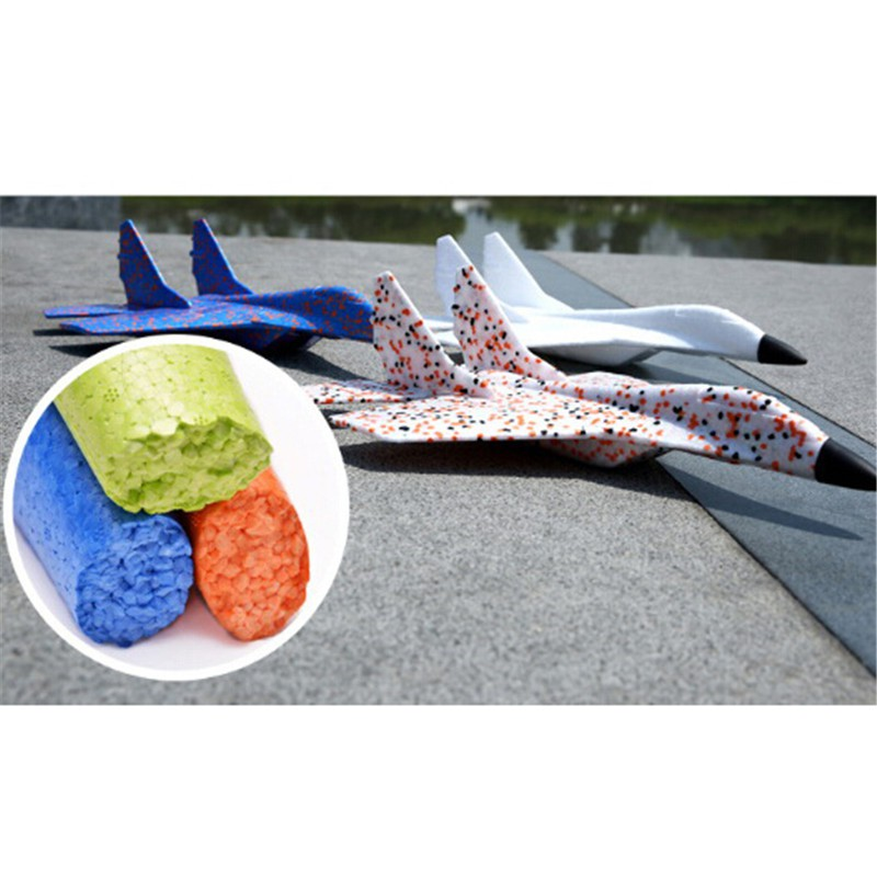 EPP Foam Hand Throw Airplane Outdoor Launch Glider Plane Kids Gift Toy