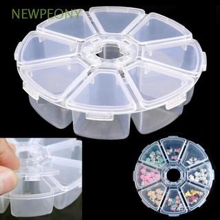 Hộp Nhựa Tròn Rỗng Đựng Phụ Kiện Trang Sức Đa Năng Tiện Dụng
