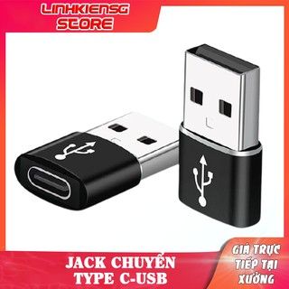 Thiết bị chuyển đổi từ đầu cắm USB sang cổng cắm USB OTG Type-C