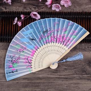 Bamboo folding fan children Chinese ancient fan folding fan student gift
